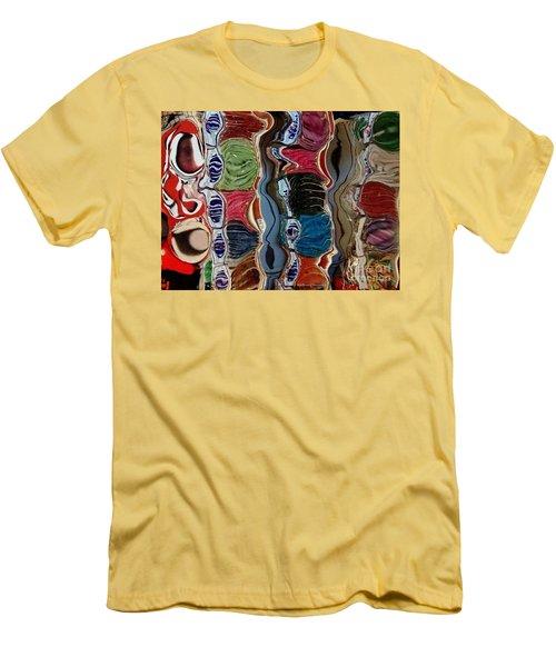 Poupourri Men's T-Shirt (Slim Fit) by Kathie Chicoine