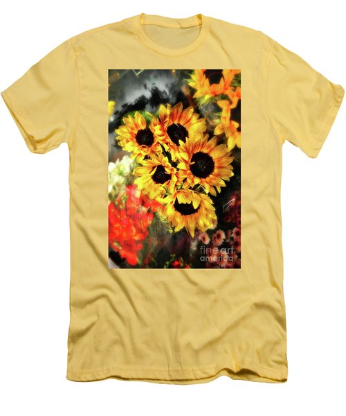 Les Tournesols Men's T-Shirt (Athletic Fit)