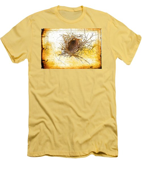 Men's T-Shirt (Slim Fit) featuring the photograph Let Go by Jan Amiss Photography