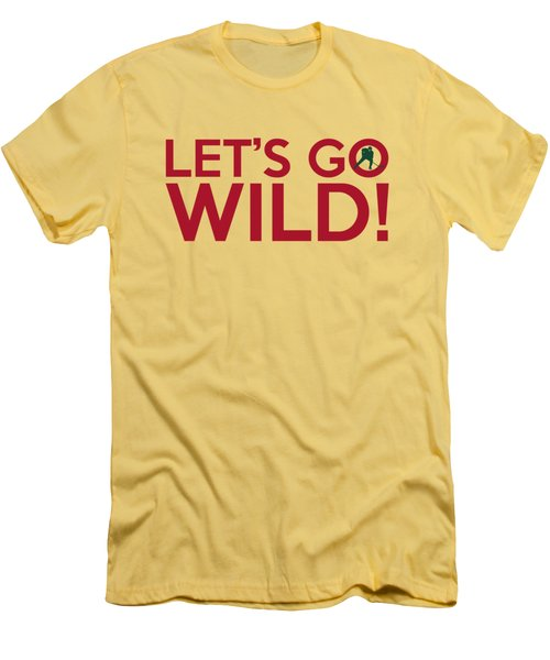 Let's Go Wild Men's T-Shirt (Athletic Fit)