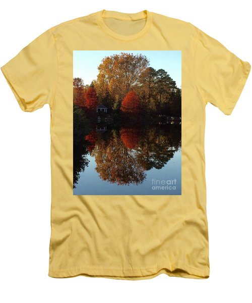 Lewis Ginter Fall Foliage Men's T-Shirt (Athletic Fit)