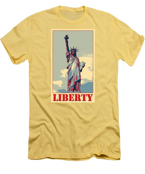 Liberty Men's T-Shirt (Athletic Fit)