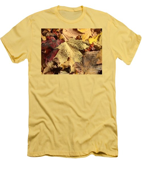 Life Never Fall-s Men's T-Shirt (Athletic Fit)