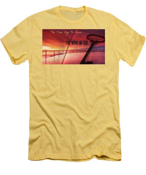 Lifeq416 Men's T-Shirt (Slim Fit) by David Norman