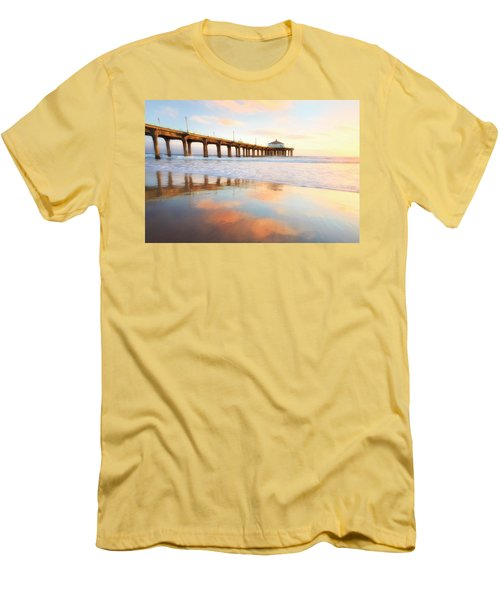 Light Reflections Men's T-Shirt (Slim Fit) by Nicki Frates