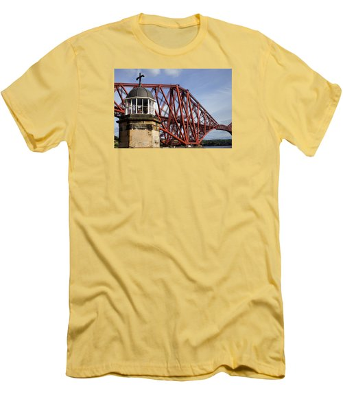 Men's T-Shirt (Slim Fit) featuring the photograph Light Tower by Jeremy Lavender Photography