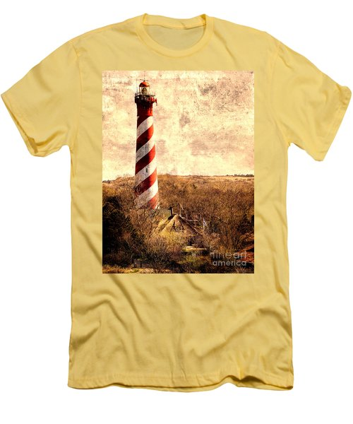 Lighthouse Westerlichttoren Men's T-Shirt (Athletic Fit)