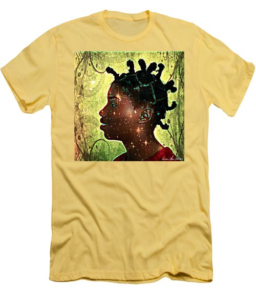 Limitless Men's T-Shirt (Slim Fit) by Iowan Stone-Flowers