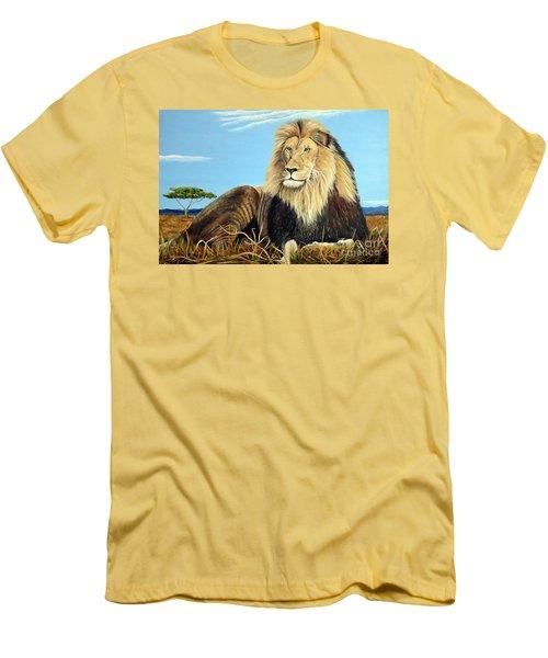Lions Pride Men's T-Shirt (Slim Fit)