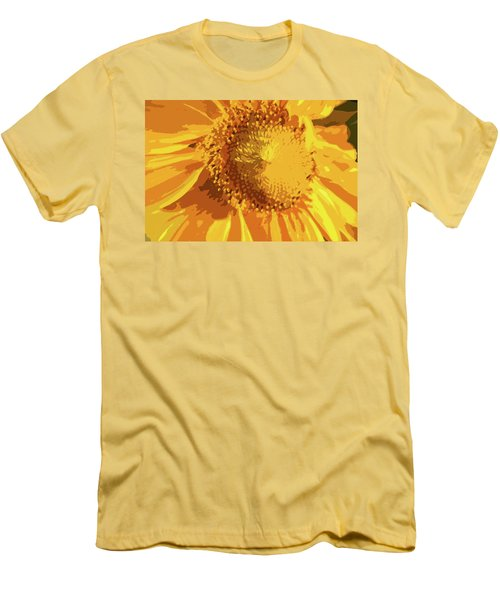 Liquid Petals -  Men's T-Shirt (Athletic Fit)