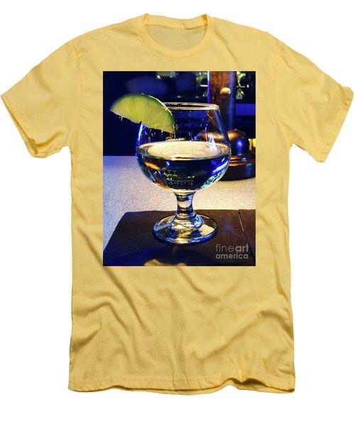 Liquid Sunshine Men's T-Shirt (Slim Fit) by Megan Cohen
