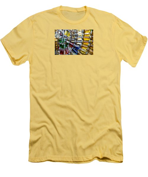 Little Bottles Of Sunshine Men's T-Shirt (Slim Fit) by Rebecca Davis