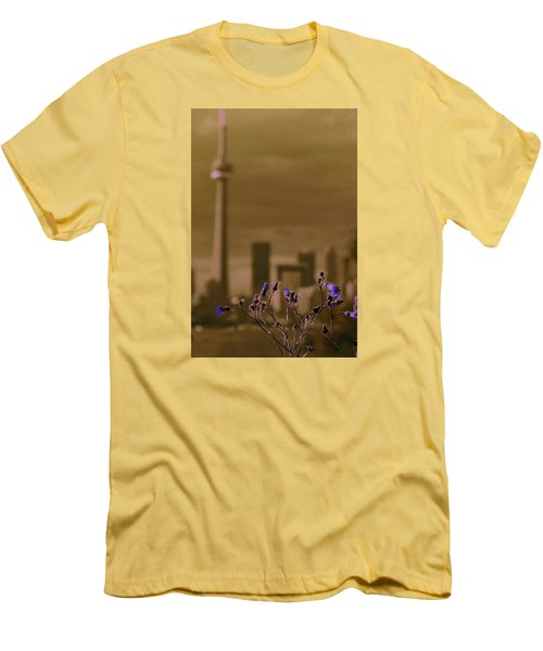 Men's T-Shirt (Slim Fit) featuring the photograph Live Beautifully by The Art Of Marilyn Ridoutt-Greene