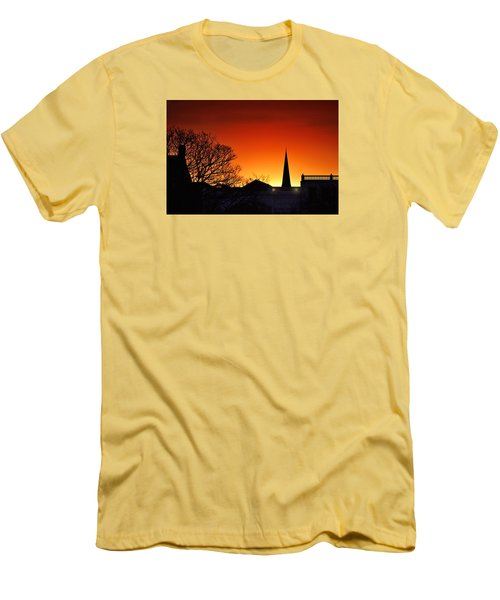 Llanelli Rooftops Men's T-Shirt (Athletic Fit)