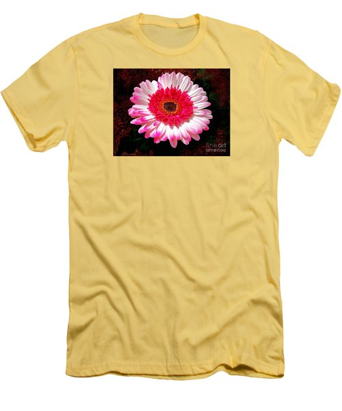 Lollipop Gerber Daisy Men's T-Shirt (Athletic Fit)