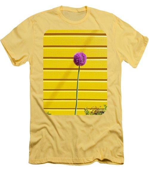 Lollipop Head Men's T-Shirt (Slim Fit) by Ethna Gillespie