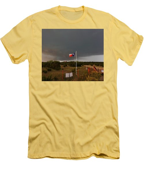 Lone Star Supercell Men's T-Shirt (Slim Fit) by Ed Sweeney