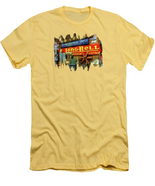 Long Bell  Men's T-Shirt (Slim Fit) by Thom Zehrfeld