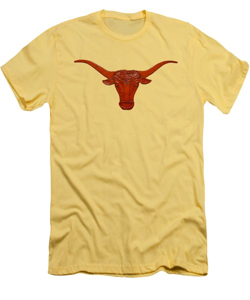 Longhorn 2 Men's T-Shirt (Athletic Fit)