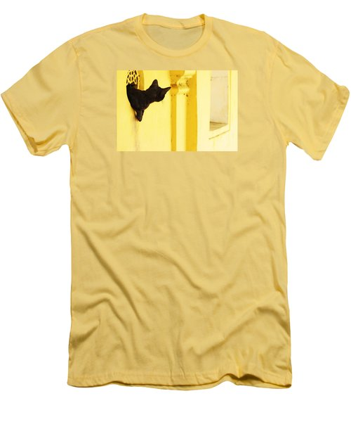 Looking For Mouse Men's T-Shirt (Slim Fit) by Prakash Ghai