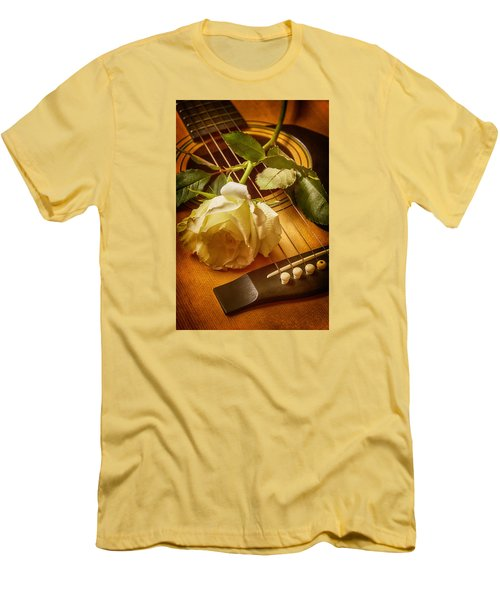 Love Song In The Making Men's T-Shirt (Slim Fit) by Swank Photography