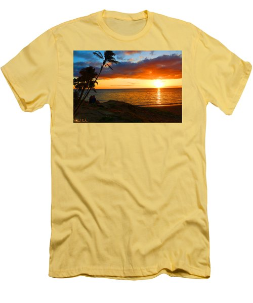 Lovers Paradise Men's T-Shirt (Slim Fit) by Michael Rucker