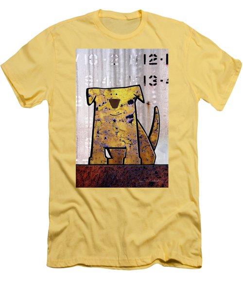 Loyal Men's T-Shirt (Slim Fit) by Joan Ladendorf