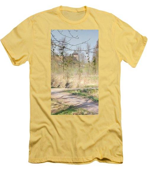 Lubart Castle Men's T-Shirt (Athletic Fit)