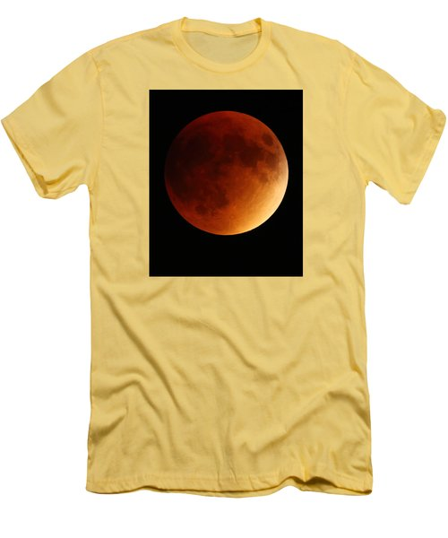 Lunar Eclipse 1 Men's T-Shirt (Slim Fit) by Coby Cooper