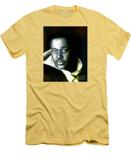 Luther Vandross - Singer  Men's T-Shirt (Athletic Fit)