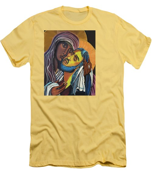 Madonna Of The Streets Men's T-Shirt (Athletic Fit)
