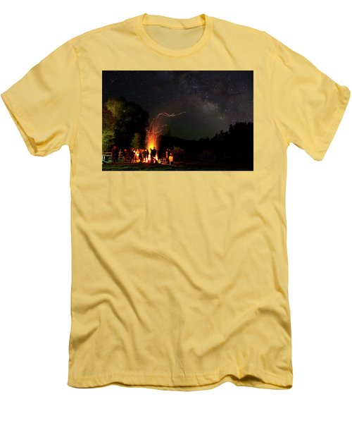 Magical Bonfire Men's T-Shirt (Slim Fit) by Matt Helm