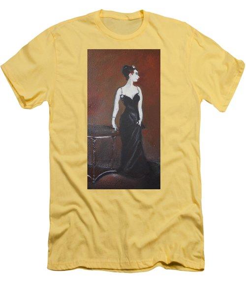 Mah Lady Men's T-Shirt (Slim Fit) by Gary Smith