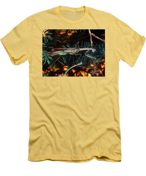 Mantis  Men's T-Shirt (Slim Fit) by J L Zarek