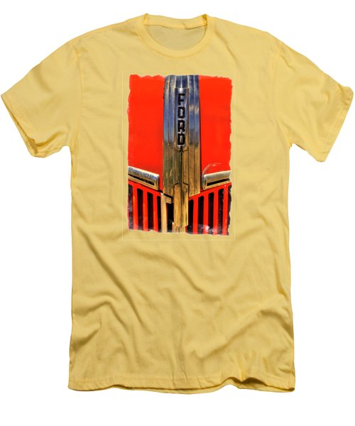 Manzanar Fire Truck Hood And Grill Detail Men's T-Shirt (Athletic Fit)