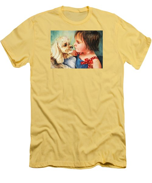 Mara Meets Mocha Men's T-Shirt (Slim Fit)