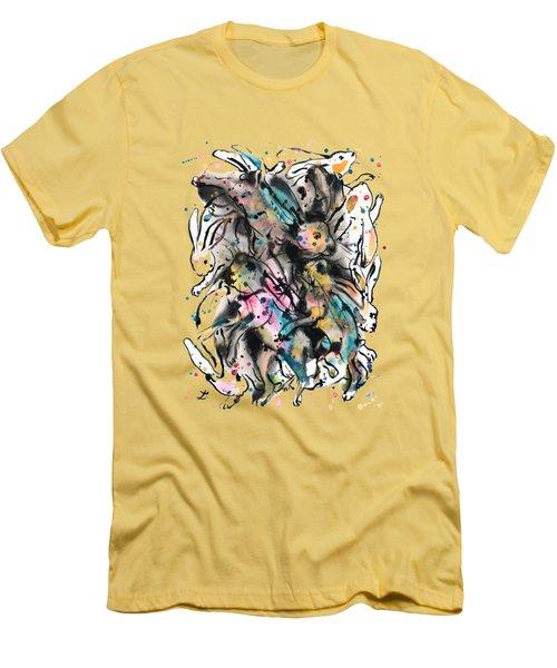 March Hares Men's T-Shirt (Athletic Fit)