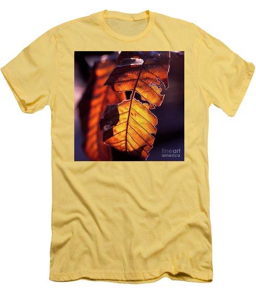 Men's T-Shirt (Slim Fit) featuring the photograph Maron by Tatsuya Atarashi