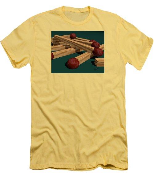 Matches Men's T-Shirt (Slim Fit) by Walter Chamberlain
