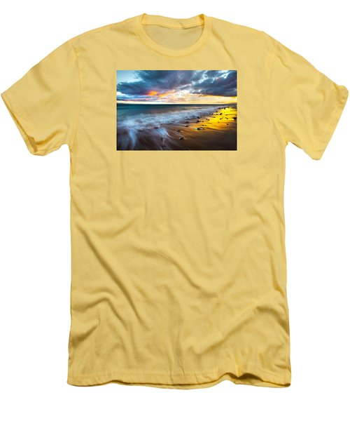 Maui Shores Men's T-Shirt (Slim Fit) by James Roemmling