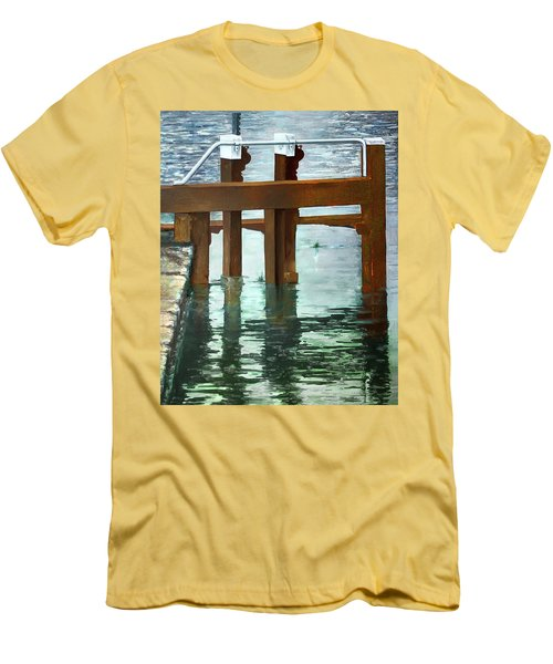Maynooth Lock Men's T-Shirt (Slim Fit) by Marty Garland