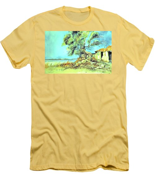 Mayorcan Tree Men's T-Shirt (Athletic Fit)