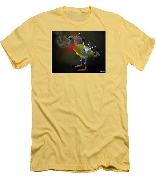 Mechanical Bird Men's T-Shirt (Athletic Fit)