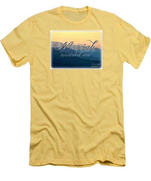Messiah  Men's T-Shirt (Slim Fit) by Sharon Soberon