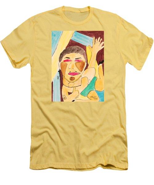 Metro Beauty Men's T-Shirt (Athletic Fit)