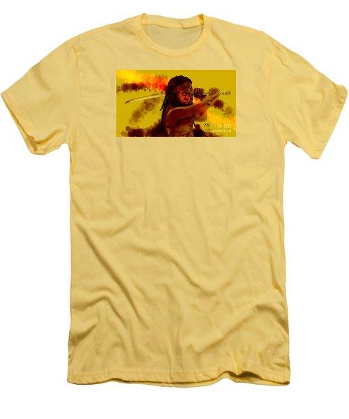 Michonne Men's T-Shirt (Slim Fit) by David Kraig