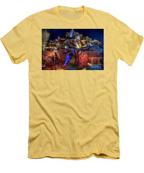 Midnight Splash Men's T-Shirt (Athletic Fit)