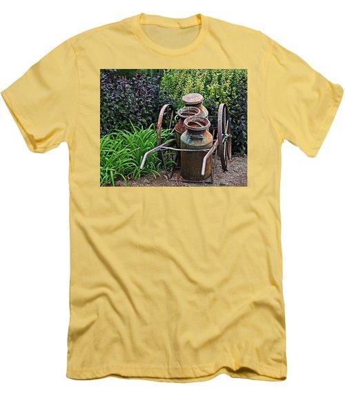 Milk Pails Men's T-Shirt (Athletic Fit)