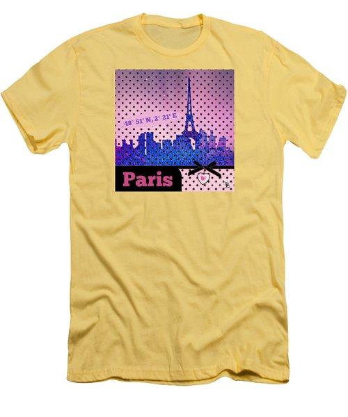 Mindy Jo's Paris  Men's T-Shirt (Athletic Fit)