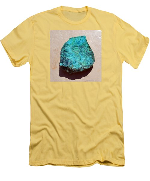 Mineral-chrysocolla Men's T-Shirt (Athletic Fit)